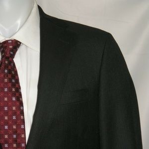 Samuelsohn Super 110 Custom Two Button Suit 40R